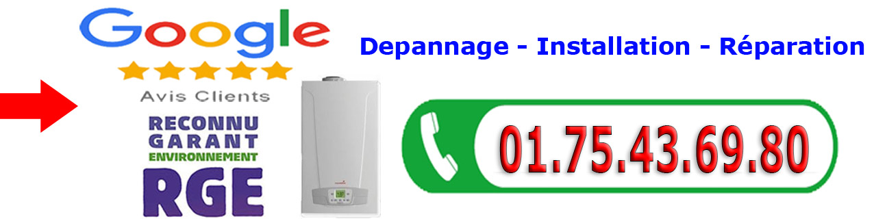 Depannage Chaudiere Tremblay en France 93290